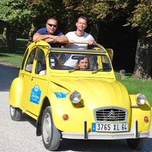 2cv Rally in the Inland region